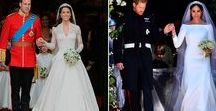 Royal Weddings / Inspiration from classical weddings from the previous century to the run-up to the latest nuptials of princes and princesses around the world