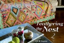 Feathering the Nest 2 - Brigitte Giblin / http://www.quiltmania.com/produits/L/FR/1953/feathering-the-nest-2.html