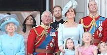 British Royals / Headed up by Queen Elizabeth and her husband Prince Philip and their four children: Prince Charles and his wife Camilla, Duchess of Cornwall, Princess Anne, Prince Andrew, Prince Edward and his wife Sophie, Countess of Wessex