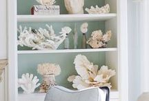 Coastal Dreaming / For the love of the beach, ocean, shells and more as depicted in Home Decor