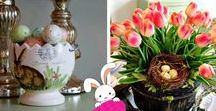 Celebrate Easter! / Lent, Devotions, Easter Decor, Spring Decor, Menus and Recipes, Quotes, Gifts, Games