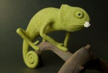 Crafts - Felt / All creatures great and small made of felt: felt monsters, felt animals, felt characters, felty felt felt...I cannot stop saying felt!! / by Joolie Shamoolie