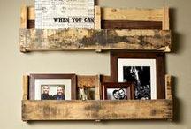DIY |Ideen |Anleitungen / Möbel aus Paletten, einzigartige Regale und schnelle Selbermach-Ideen für alle DIY-Begeisterten