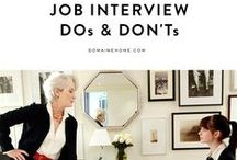 Job interview! / Funny video: CV and job interview!