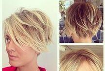 Haare| Frisuren| Schnitte / Egal ob trendiger Kurzhaarschnitt, Übergangslänge oder Hochsteckfrisuren- hier findet ihr tragbare Ideen