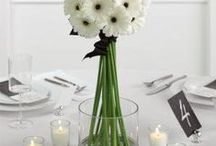 Wedding / Favorit colors are black&white
