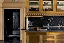 glam and cozy kitchens