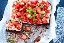 Erdbeere| Inspiration| Rezepte / Ein großartige Frucht, die definitv ihre eigene Pinnwand mit Rezepten und Ideen verdient