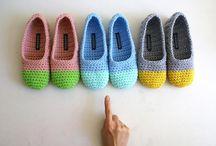 Crochet - Shoes and socks
