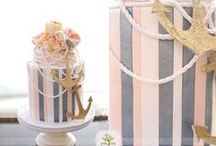 nautical sea cakes