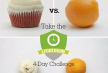 4 O'Clock Decision / Ward off your mid-afternoon junk food craving by eating a light and healthy snack.