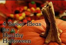 Healthy Halloween Ideas / Who says Halloween has to be all about the candy? Here are healthier ways to get your tricks and treats.