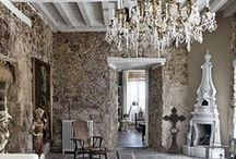 Rustic & Elegant Inspiration / French, Tuscan and rustic influence / by Pam S. (rangermomma)