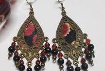 Brinco a brac / craft earring / Brincos feitos á mao: pares unicos e originais  Craft Earrings https://www.facebook.com/brincoabrac http://brincoabrac.blogspot.pt/