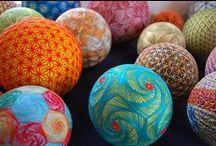 Temari Balls - Crafts