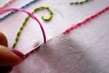Sewing, stitchs etc. inspiration (diy)