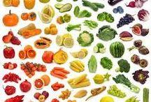 Food, colourful food!