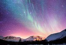 Northern lights around the world / Aurore boreali dal nord del mondo