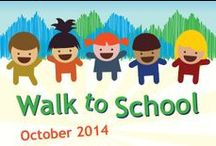 Walk to School Day / Planning ideas, tips and resources for Walk to School Day.
