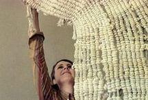 Textil formák / textile shapes / inspiráció § gyűjtés