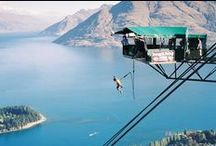 Crazy New Zealand Activities / New Zealand is called the adventure capital of the world for a reason!