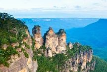 Blue Mountains / Blue Mountains National Park is just a shrot drive from Sydney and is not to be missed! Home to the 'Three Sisters' and the world's steepest scenic railway!