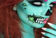 Halloween Costumes / Halloween outfits, makeup & nails