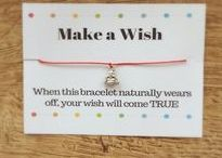 Make a Wish Bracelet / Wish bracelets