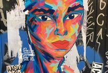 Arte Urbano en Barcelona / Barcelona es un hervidero de cultura y arte alternativo, donde pequeños GRANDES artistas exponen sus obras en pequeñas galerías, centros culturales e incluso en las fachadas de algunas calles. El arte urbano es el arte democrático: arte para todos y todas, un arte que da voz a minorías. En este tablero, se muestran alguna obras de este carácter que se encuentran en el centro de la ciudad de Barcelona.