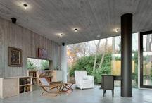 Betonowe wnętrze - inspiracje