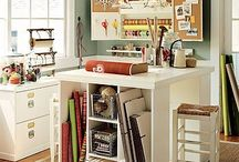 Basement Craft Room / Ideas for my new craft room / by Kathie Malloy