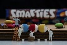 Liliputions:  Photgraphy of Miniature Figures / Imaginative photograpy of miniature figures with food and everyday objects. various artist / by Lauren-Rose Hastie