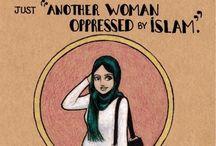 Hijab / It's ok to believe in a god, especially Ra, Bastet, Anubis, Zeus...