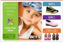 Little Feet Children's Shoes About us / Little Feet Children's Shoes specializes in Premier Shoes for infants, toddlers and youth by Stride Rite, See Kai Run, Geox, Keen, Dansko, Merrell, Ugg Australia, Bogs and more. We are located at 24 North Bartlett Street in Medford Oregon.  We are a family owned business and our staff will measure your child's foot, ensuring that they get the proper fit. We carry wides and narrows in many of our brands. Many of our styles are approved by the American Podiatric Medical Association