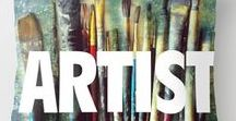 Art studio & Home Decor for Artists / Home decor and inspiration for artists and creative people! Inspiring studios, wall decor, quotes and ideas! gifts for artists. inspiring quotes and decor for artists and crafters. Art studios. Gifts for artists. Art quotes. Art supplies. Inspiring photos for artists. Paint brushes.