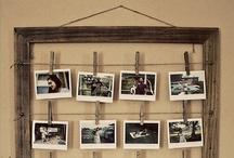 D.I.Y. - Foto's / Foto's bewerken en op een creatieve manier ophangen in je huis.