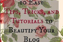 Blogging Tips & Tuts / Lessons and tutorials for getting started with blogger.