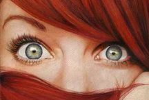 Redheads - Locks of Fire / by cindy troyer