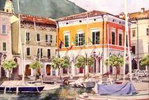 Gargnano / by Boutique Hotel Villa Sostaga