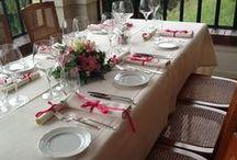 """Restaurant Gardasee Sostaga / Das elegante und behagliche Restaurant Villa Sostaga ist der ideale Rahmen für genussvolle Mittag- und Abendessen.  Geboten werden Gerichte, die der Tradition des Gardasees entstammen und Kreationen unseres Chefs, die auch den anspruchsvollsten Gaumen verwöhnen. Erleben Sie auf unsere Panorama-Veranda oder im eleganten Saal """"Liberty"""" im Schein von Kerzen und Fackeln ein romantisches Gourmet-Erlebnis erster Klasse mit bestem Service / by Boutique Hotel Villa Sostaga"""