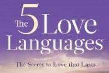 The 5 Love Languages / My love languages:  #1: Quality Time and #2: Gifts.  Hubby's:  #1: Words of Affirmation and #2: Touch.