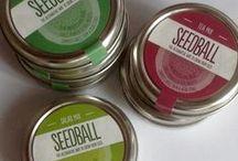Seedballs / Seeds and Planting Inspiration