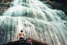 Waterfalls & Rivers.
