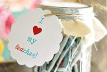 Teacher Appreciation ideas / Show some love for our wonderful teachers who inspire us in the classroom!
