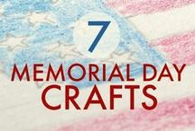 Memorial Day Activities and other goodies / Help teach little ones about the importance of Memorial Day. This board includes crafts, printable handouts, and some healthy snack ideas as well as fun projects for home!