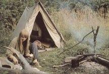 Vintage Camping.