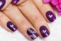 Valentine's Nails / Great nail design ideas to celebrate Valentine's day!