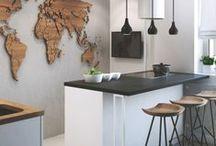 Interior Design with Wood Elements / Interior Design