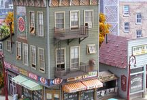models building and diorama's / A bord to look for inspiration for your dioramas or railroad models #DIY