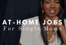 At-Home Jobs For Single Moms